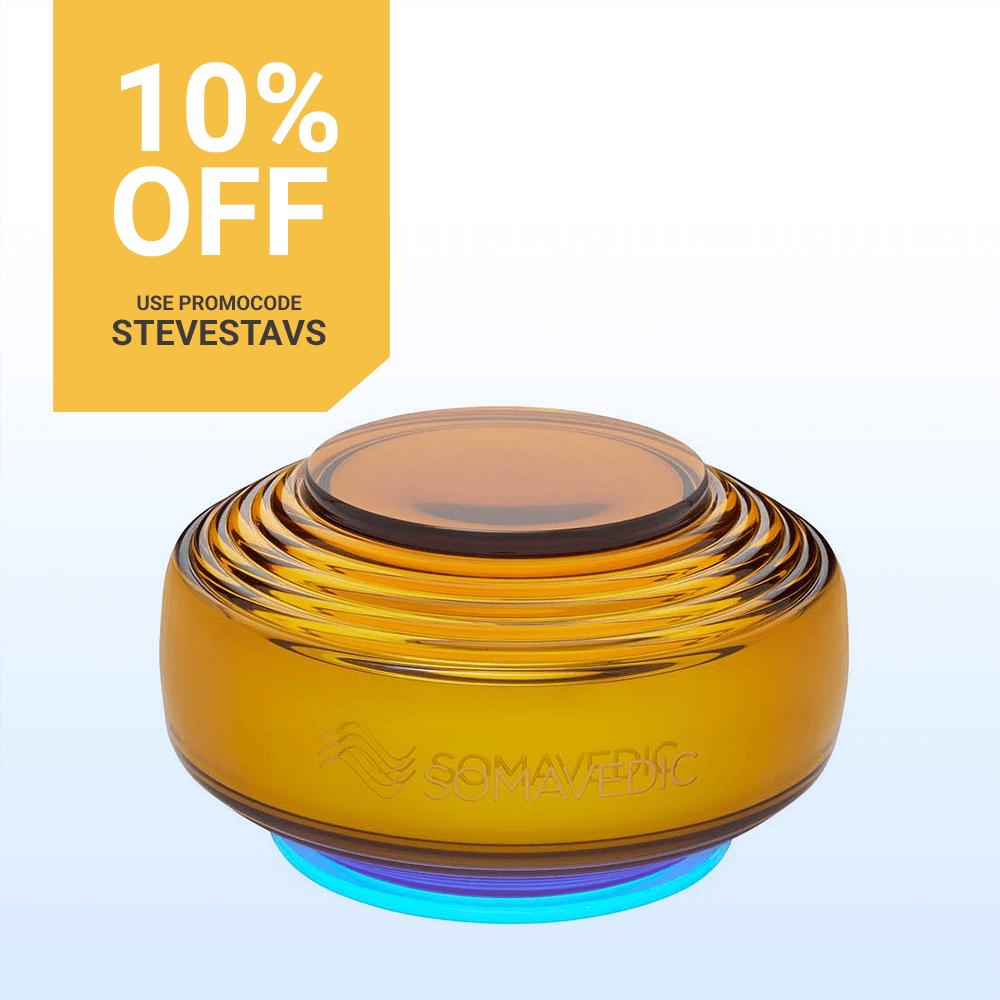 10% Off Somavedic Amber