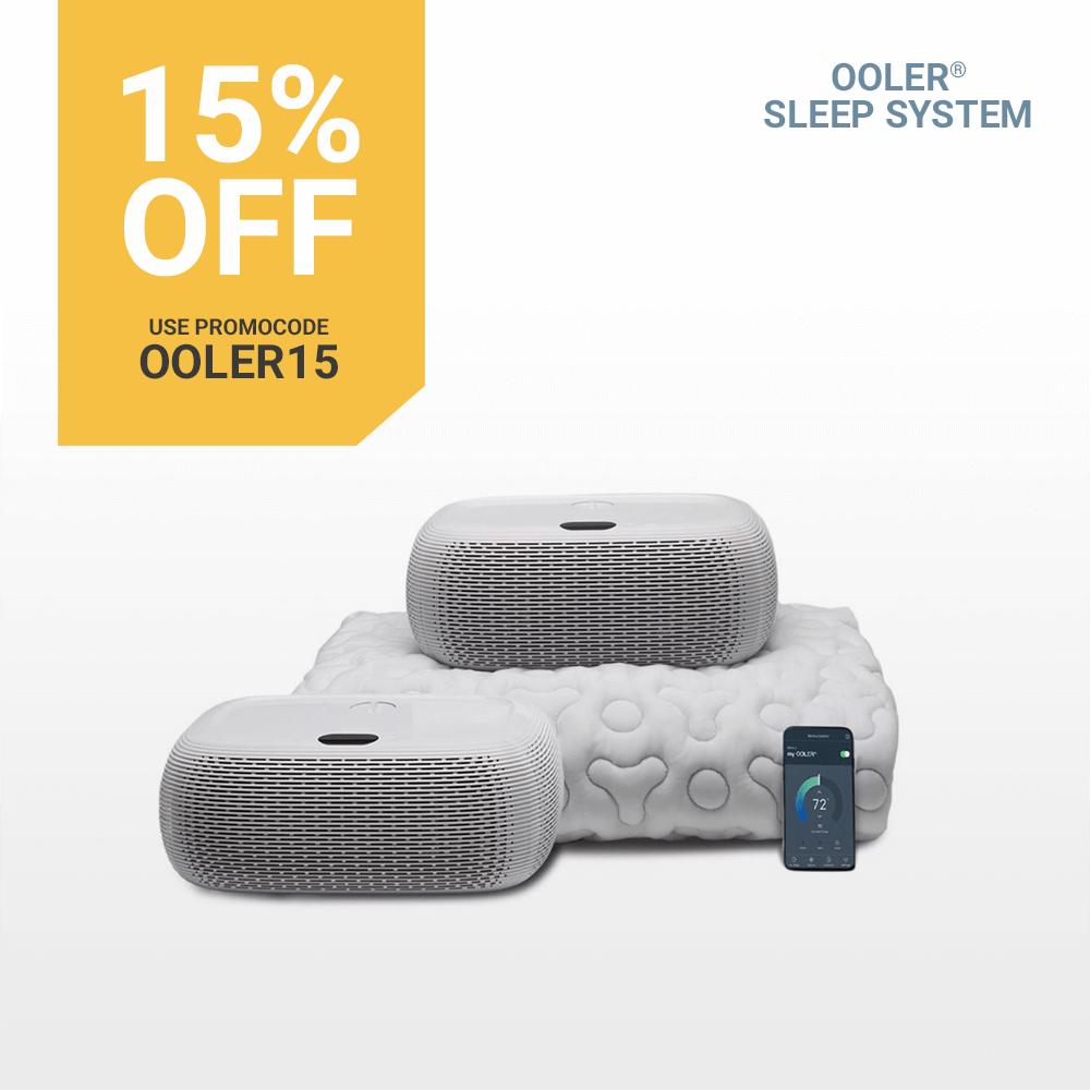 15% off OOLER Sleep System