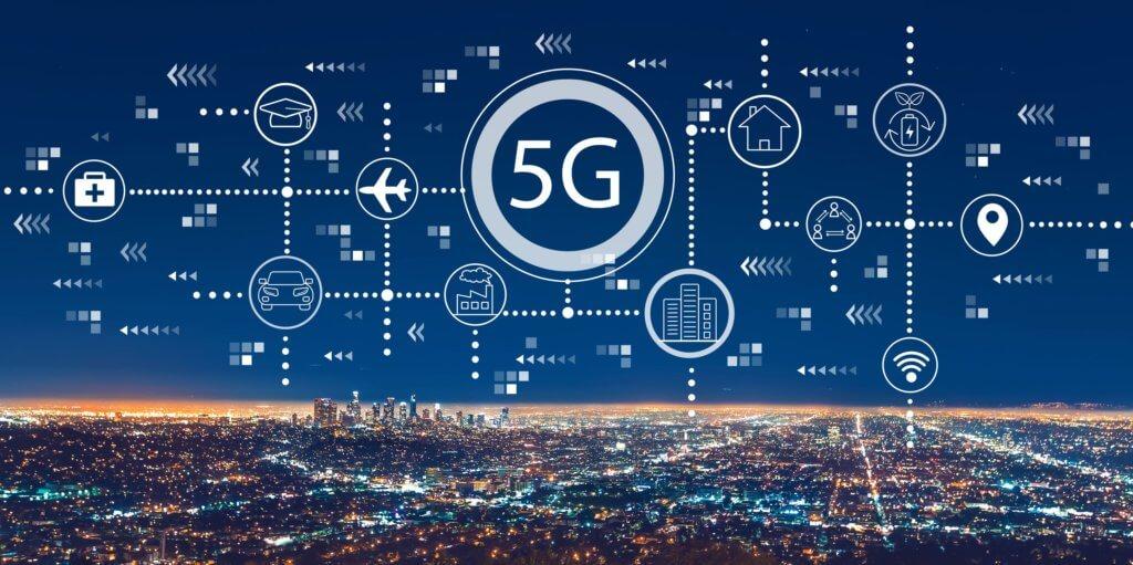 5G pervasive in city