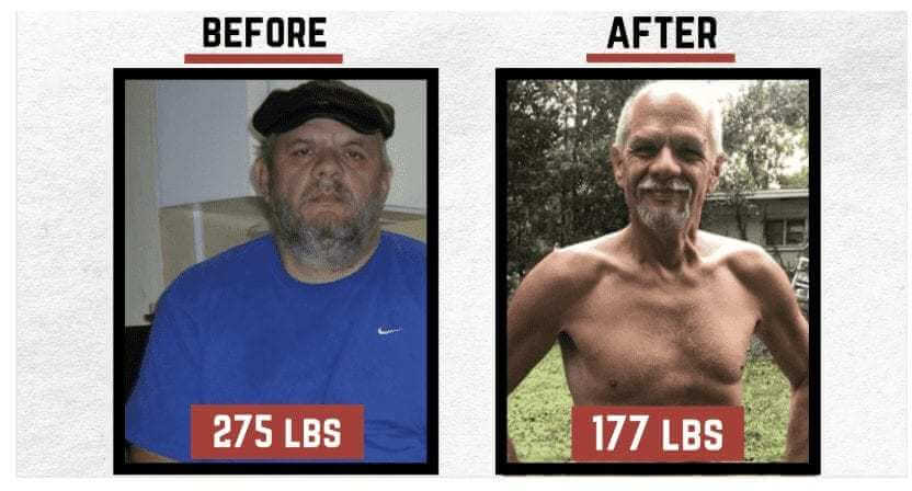Carnivore before and after