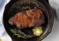 Steak in cast iron skillet carnivore diet