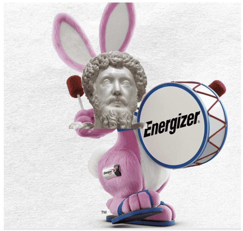 Carnivore Aurelius Human energiser bunny