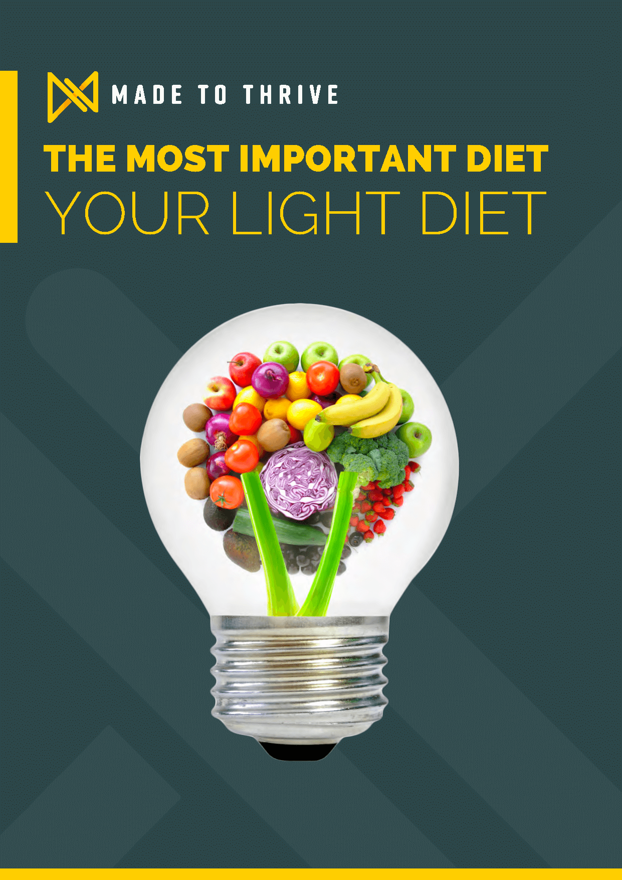 Made To Thrive Light Diet eBook Cover